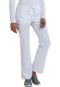 Low Rise Straight Leg Drawstring Pant (CA100T-WHT)