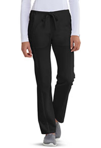 Careisma Low Rise Straight Leg Drawstring Pant Black (CA100-BLKZ)