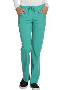 Low Rise Straight Leg Drawstring Pant (CA100-EMRG)