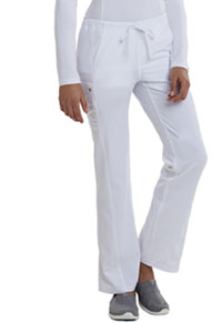 Low Rise Straight Leg Drawstring Pant (CA100-WHT)