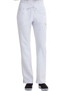 Low Rise Straight Leg Drawstring Pant (CA105AP-WHT)