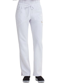 Low Rise Straight Leg Drawstring Pant (CA105AT-WHT)