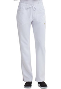 Low Rise Straight Leg Drawstring Pant (CA105A-WHT)