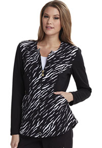 Careisma Zip Front Jacket Stay A Wild Black (CA302X3-STWD)