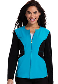 Careisma Zip Front Jacket Aqua Rush (CA302-AQBK)