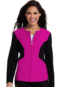 Careisma Zip Front Jacket Hot Magenta (CA302-HGBK)