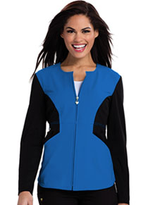 Careisma Zip Front Jacket Royal (CA302-RYBK)
