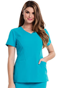 Careisma V-Neck Top Aqua Rush (CA601-ARH)