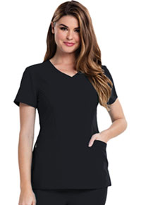 Careisma V-Neck Top Black (CA601-BLKZ)