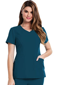 Careisma V-Neck Top Caribbean Blue (CA601-CAR)