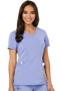 Careisma V-Neck Top Ceil Blue (CA601-CBLZ)