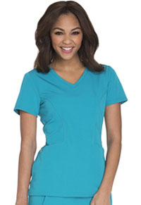Careisma V-Neck Top Teal (CA601-DTLZ)