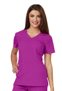 Careisma V-Neck Top Hot Magenta (CA601-HMG)