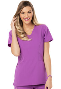 Careisma V-Neck Top Purple Orchid (CA601-PUO)