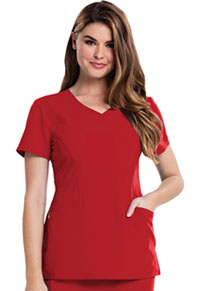 Careisma V-Neck Top Red (CA601-RED)