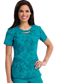 Careisma Round Neck Top Brilliant Blooms (CA602X15-BTBO)