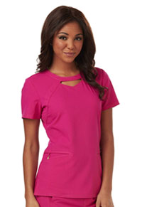 Careisma Round Neck Top Hot Magenta (CA602-HMG)
