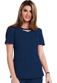 Careisma Round Neck Top Navy (CA602-NAV)