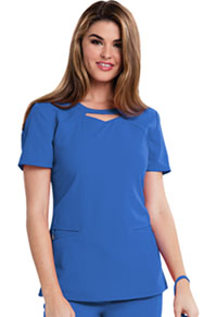 Careisma Round Neck Top Royal (CA602-RYLZ)
