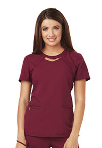 Careisma Round Neck Top Wine (CA602-WIN)
