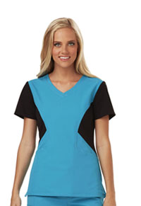 Careisma V-Neck Top Aqua Rush (CA605-AQBK)