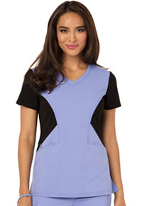 Careisma V-Neck Top Ceil Blue (CA605-CIBK)
