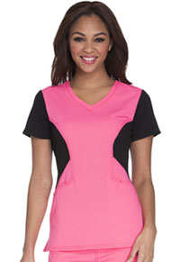 Careisma V-Neck Top Pink Passion (CA605-PKBK)
