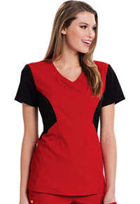 Careisma V-Neck Top Red (CA605-REBK)