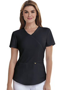 Careisma Mock Wrap Top Black (CA610A-BLK)