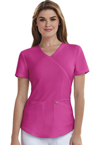Careisma Mock Wrap Top Hot Magenta (CA610A-HMG)
