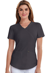 Careisma Mock Wrap Top Pewter (CA610A-PWT)