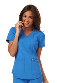 Careisma Mock Wrap Top Royal (CA610A-ROY)