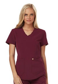 Careisma Mock Wrap Top Wine (CA610A-WIN)