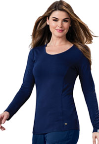 Careisma Long Sleeve Underscrub Knit Tee Navy (CA612A-NYPS)