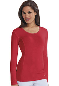 Careisma Long Sleeve Underscrub Knit Tee (CA612A-RED) (CA612A-RED)
