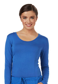 Careisma Long Sleeve Underscrub Knit Tee Royal (CA612A-RYPS)