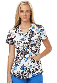 Careisma Mock Wrap Top Strike A Posy (CA615-STPY)