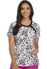 Careisma Round Neck Top Wild About Houndstooth (CA616-WIHU)