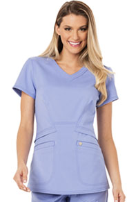 Careisma V-Neck Top Ciel Blue (CA618A-CIE)