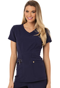 Careisma V-Neck Top Navy (CA618A-NAV)