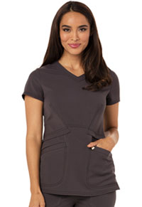 V-Neck Top (CA618A-PWT)