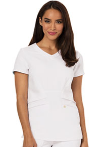 Careisma V-Neck Top White (CA618A-WHT)