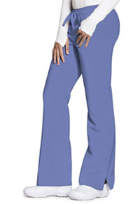 Code Happy Mid Rise Moderate Flare Leg Pant Ciel Blue (CH000A-CIE)