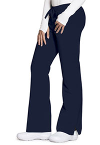 Code Happy Mid Rise Moderate Flare Leg Pant Navy (CH000A-NAYH)
