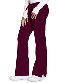 Code Happy Mid Rise Moderate Flare Leg Pant Wine (CH000A-WIN)