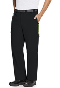 Code Happy Men's Zip Fly Front Pant Black (CH205A-BXCH)