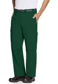 Code Happy Men's Zip Fly Front Pant Hunter Green (CH205A-HNCH)