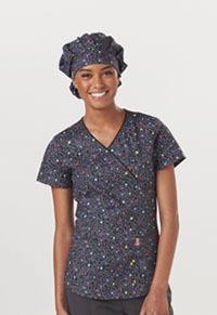 Code Happy Bouffant Scrub Hat So Speck-tacular (CH501A-SOSP)