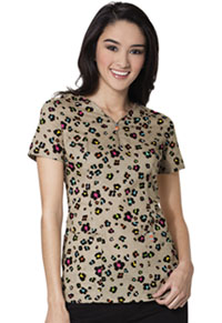 Code Happy V-Neck Top Flower Grrrl (CH610X7A-FWGR)