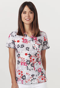 Code Happy Mock Wrap Top Good Ol' Daisies (CH624A-GOOL)